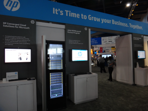 HP Booth at WPC 2013