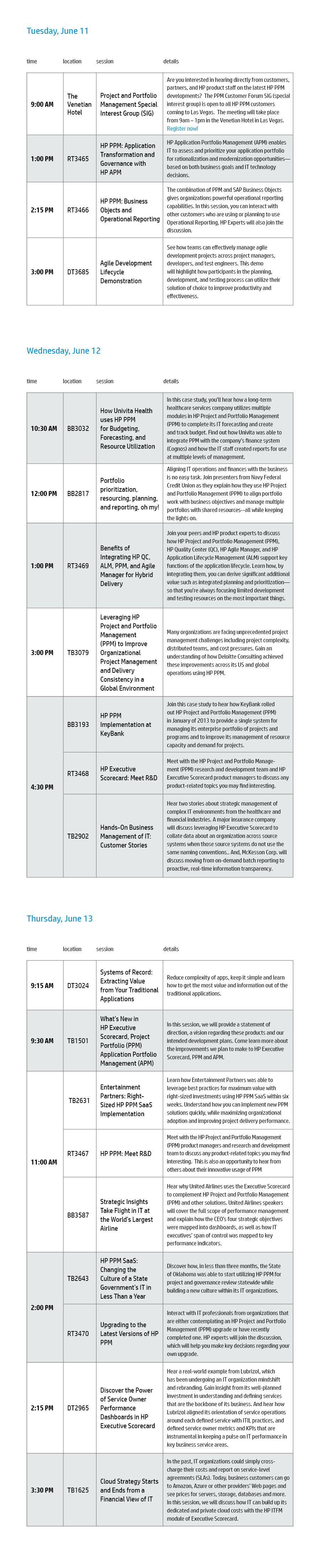 2013 HP Discover Event Schedule_PPM_5-30-13.jpg