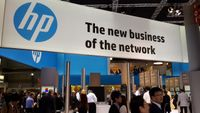 HP booth at MWC