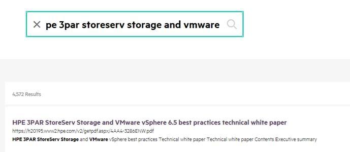 HPE 3PAR StoreServ Storage and VMware vSphere 6 5     - Hewlett