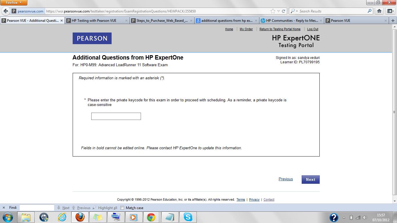 Hp Ase Loadrunner 11 Certification Hewlett Packard Enterprise