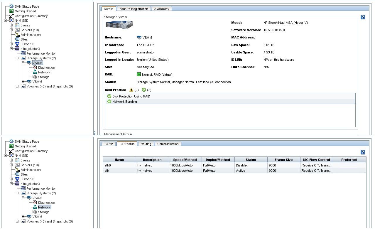 VSA 2014 (Hyper-V 2012) No network settings - Hewlett Packard ...