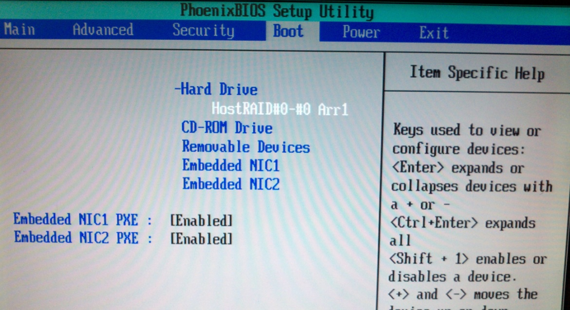 Proliant DL140 G3 not booting after installing E50    - Hewlett