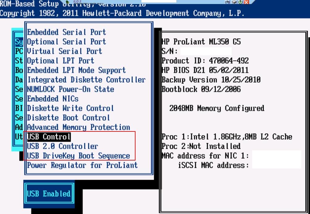 Proliant ML 350 G2 (I think) test project - Hewlett Packard