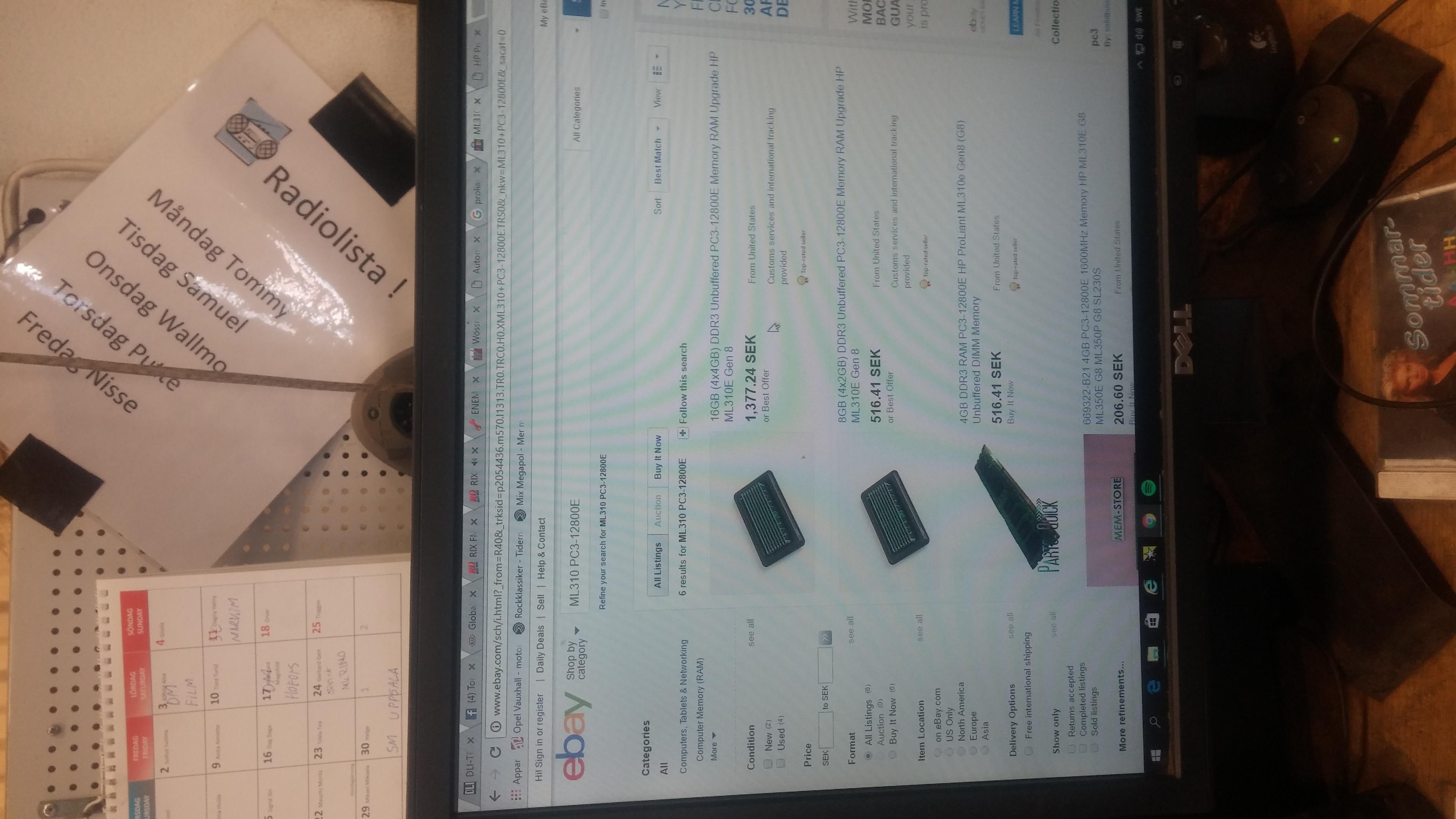Solved: HP Proliant ML310e wont start properly and make co