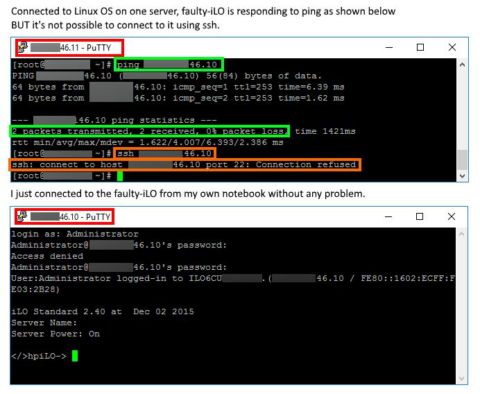 Solved: HPE iLO SSH Problem - Hewlett Packard Enterprise