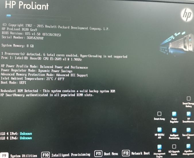 Solved: HP DL80 Gen9 and HP Smart Array P410 Controller - Hewlett