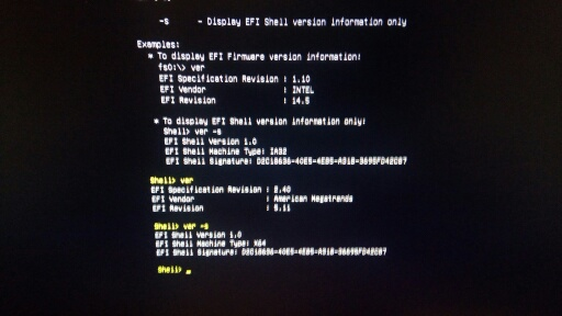 Proliant UEFI no boot command, can't boot Ubuntu 1