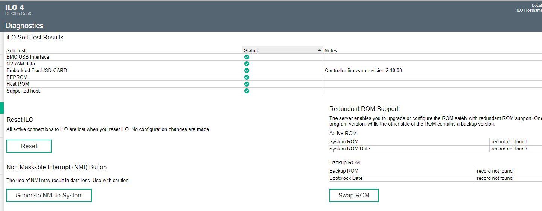 Solved: System ROM via iLO 4 upload  - Hewlett Packard