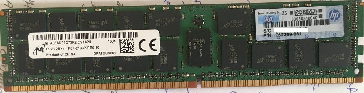 Solved: how to verify HPE ram serialnumber? - Hewlett Packard
