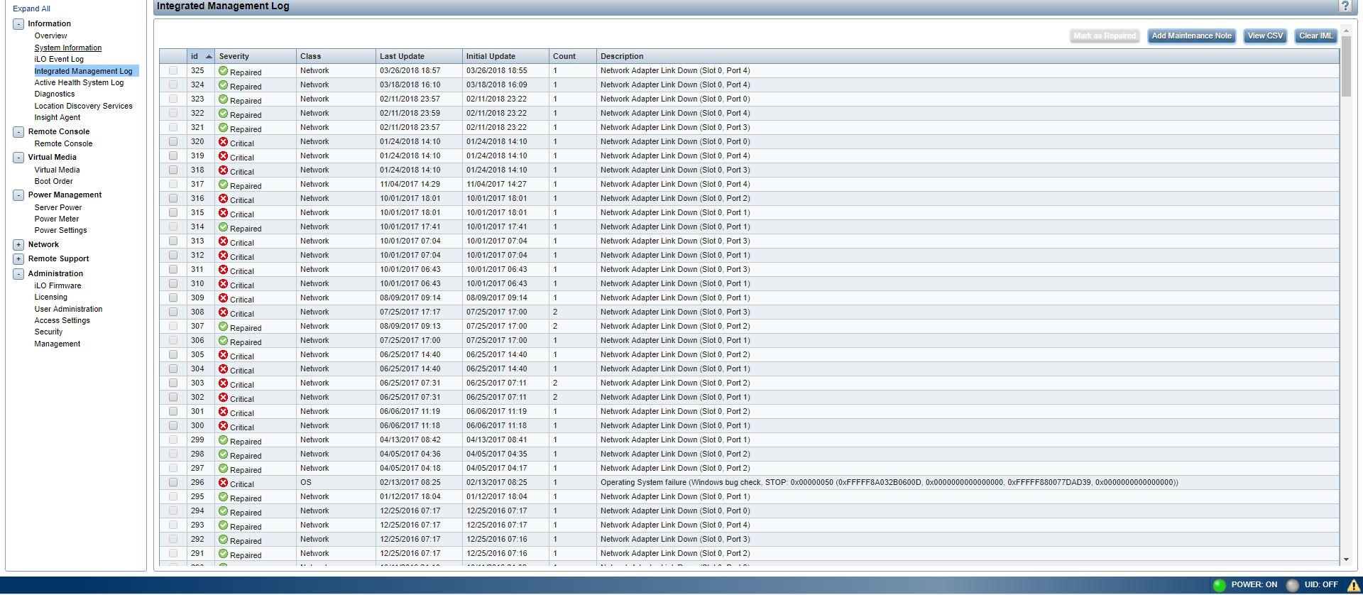 Solved: Cache Module Status (Falied) - Hewlett Packard