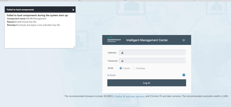 HP IMC detected VXLAN management Expire - Hewlett Packard Enterprise
