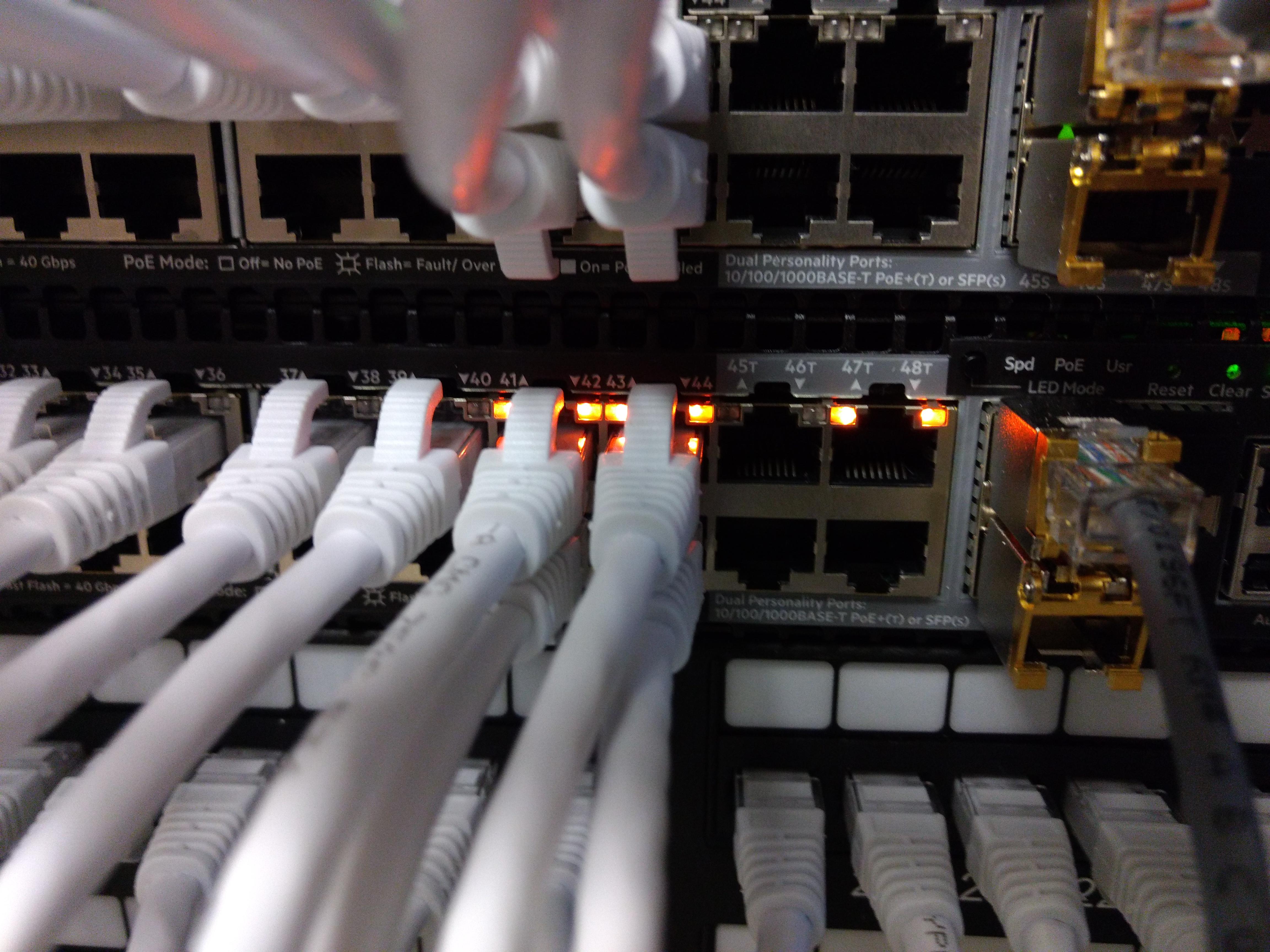Aruba 2930M Stacking failure - Hewlett Packard Enterprise