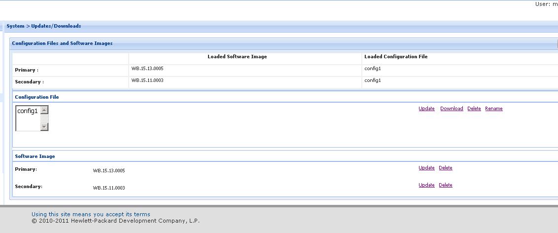 HP 2920 Stackable Firmware Update Failed - Hewlett Packard