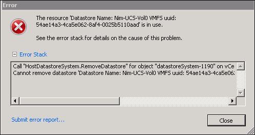 Solved: Unable to Unmount Nimble Volume in VMware - Hewlett Packard
