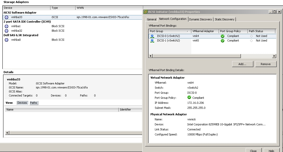 Need assistance with ISCSI reconfiguration on VMwa... - Hewlett ...
