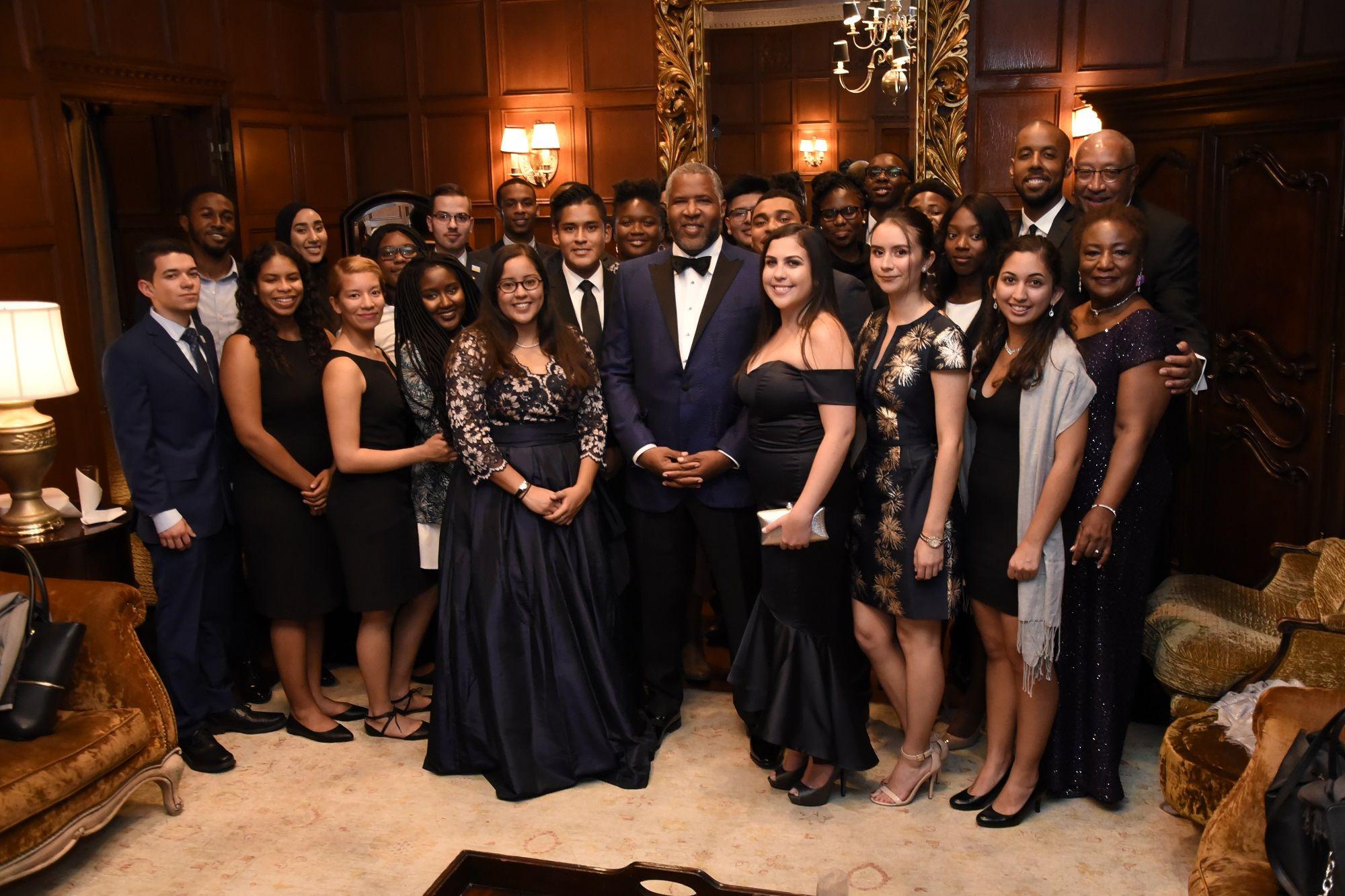 NACME scholarship recipients at recent awards event