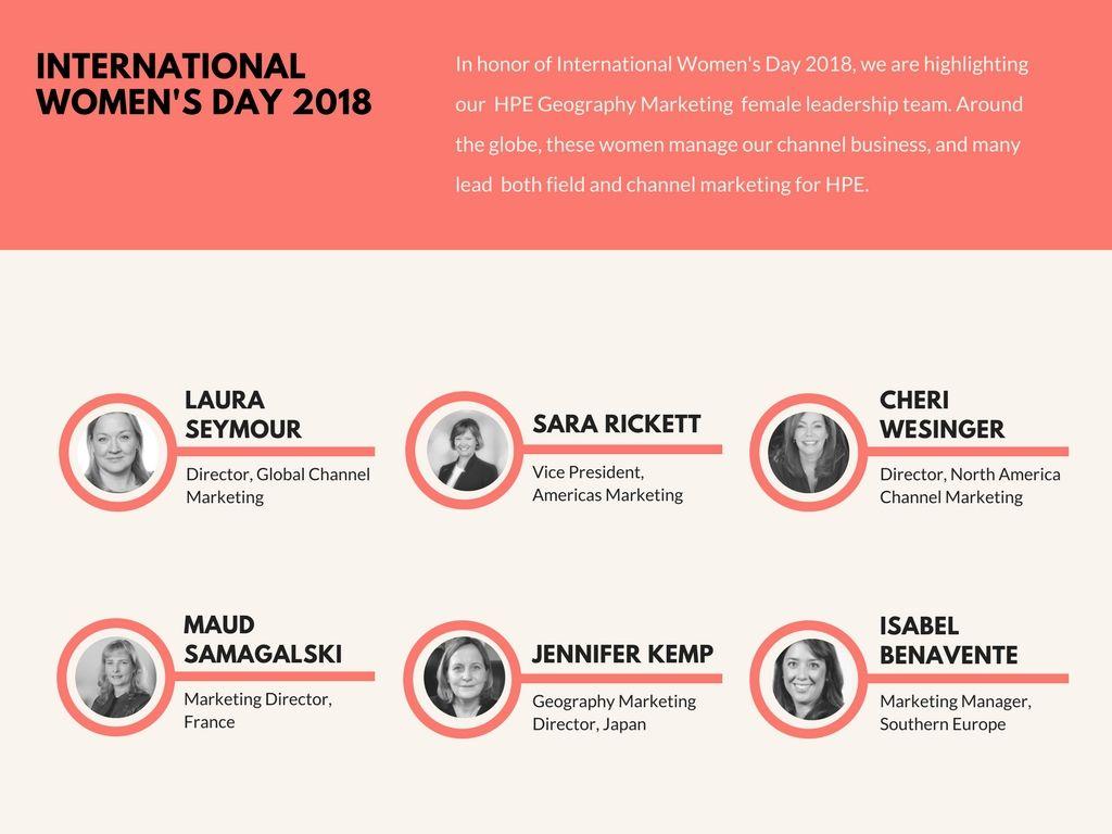 Celebrating HPE Women Channel Leaders