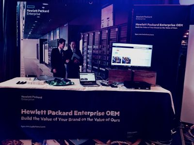 HPE OEM Booth