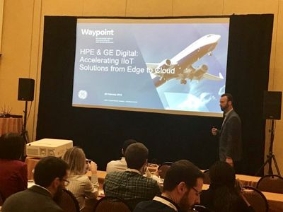 HPE & GE Digital Session with Tripp Partain