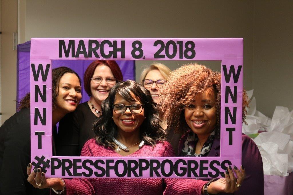 HPE 2018 Women's Network North Texas International Women's Day Celebration