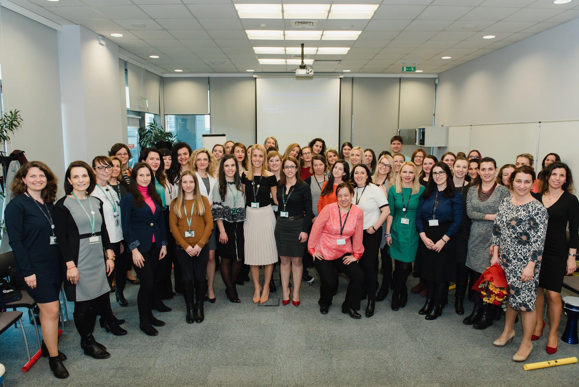 Al Participants at the Women at Work Bulgaria Talent Event