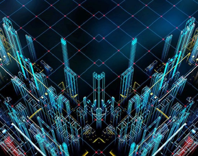 3D buildings simulation