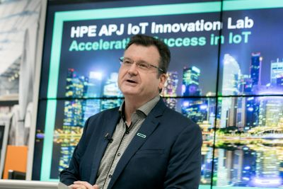 Dr. Tom Bradicich, Vice President und General Manager für IoT und Converged Edge Systems bei HPE