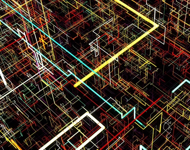 3-D pipe matrix