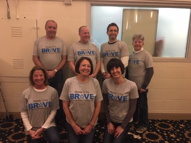Home of the Brave Campaign Volunteers - Bedford, MA