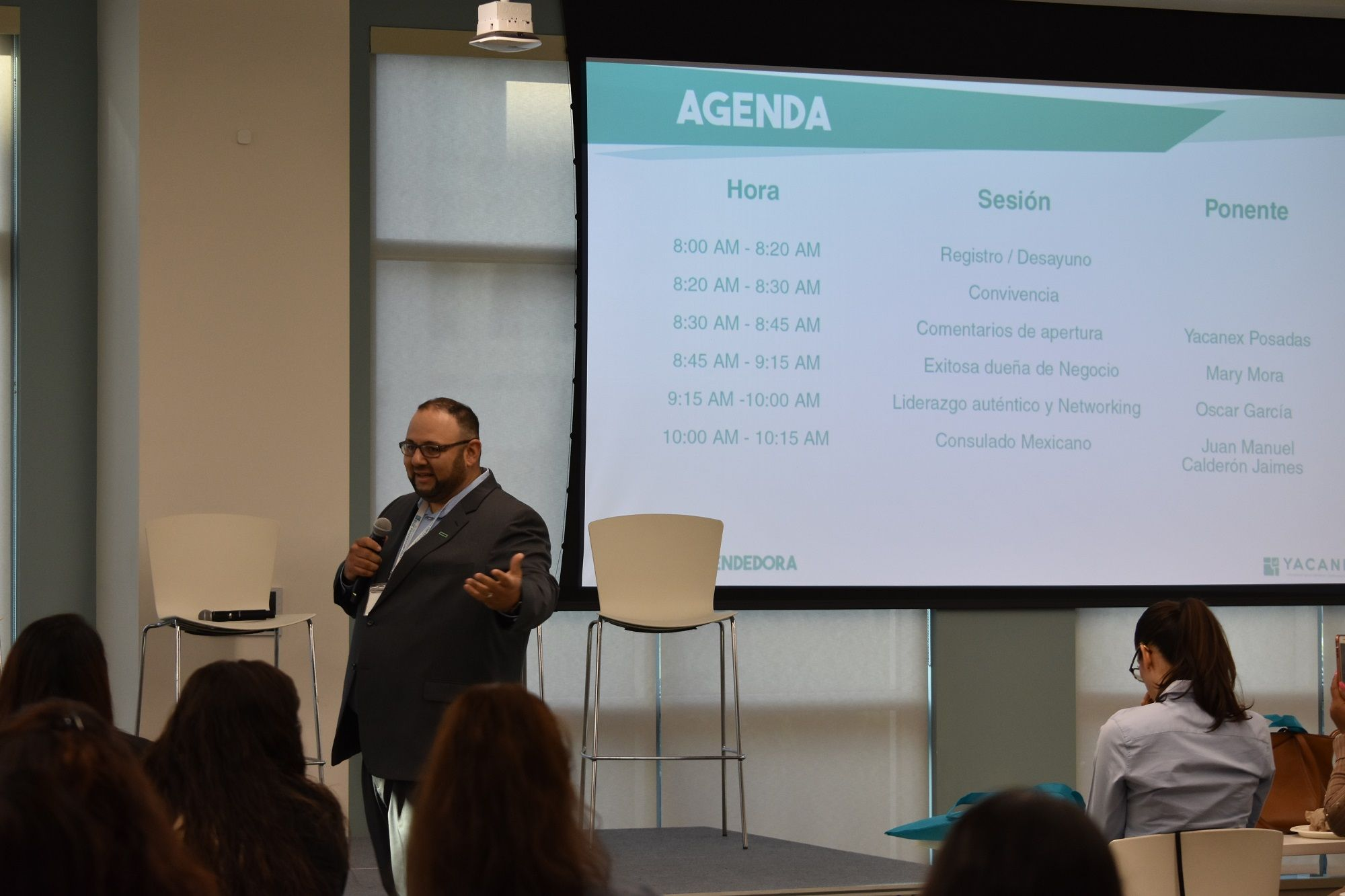 Carlos Quezada, HPE leader and a graduate of HITEC Emerging Executive Program (EEP) hosted and organized the 2nd annual conference.