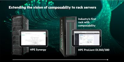 Extending the vision of composability to rack servers