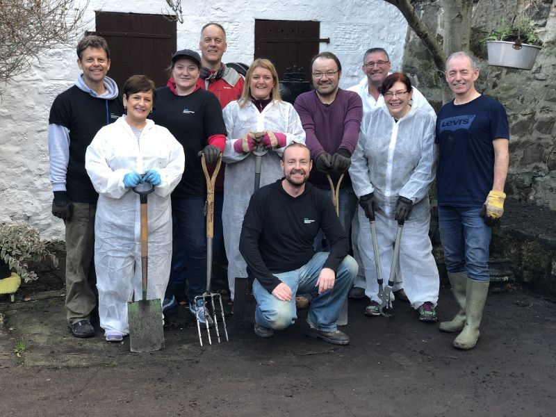HPE employees in Scotland making a difference