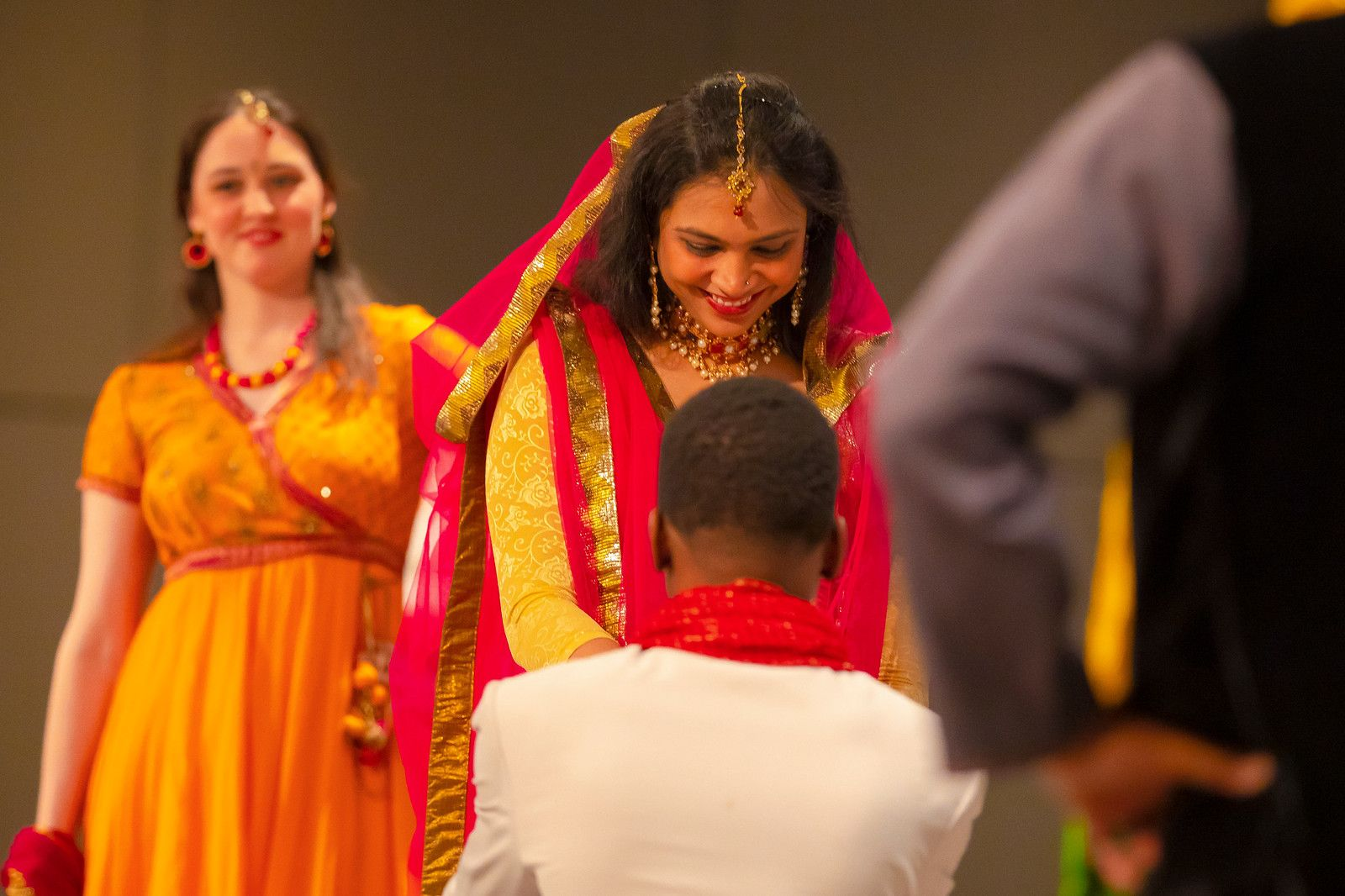 Re-enactment of an Indian marriage proposal