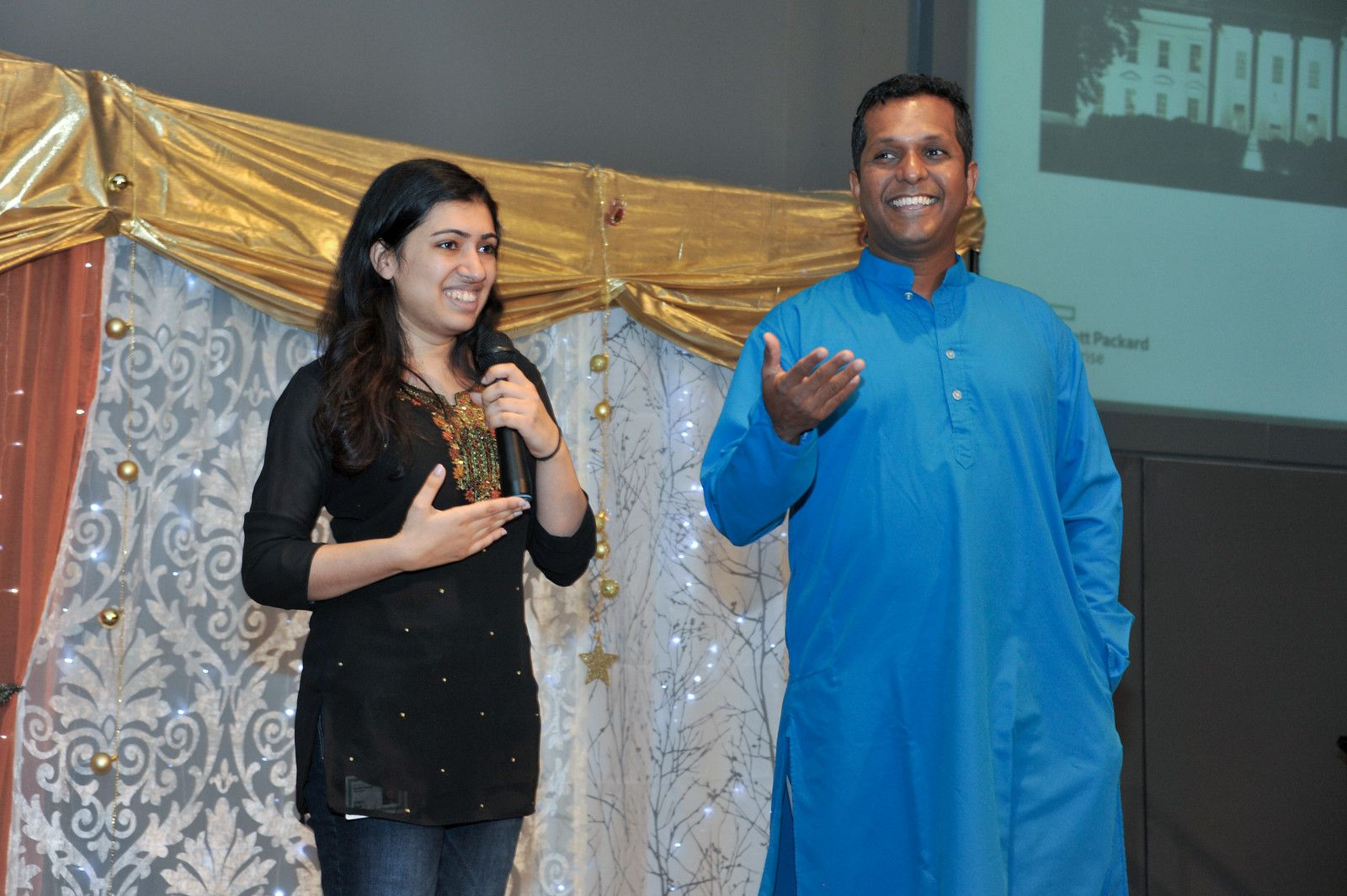 Diwali trivia - employees were quizzed on everything from Diwali culture to HPE history