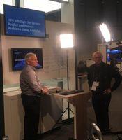 Bob Perugini presents InfoSight for servers demo at Discover Madrid 2018.