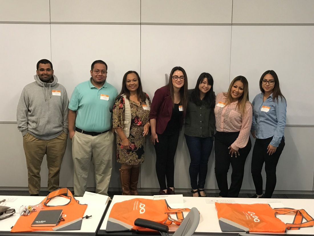 Lideres Youth Fellowship event at HPE Aruba HQ in May