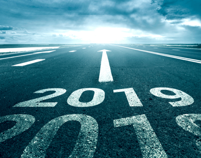 '2019' on an airport runway