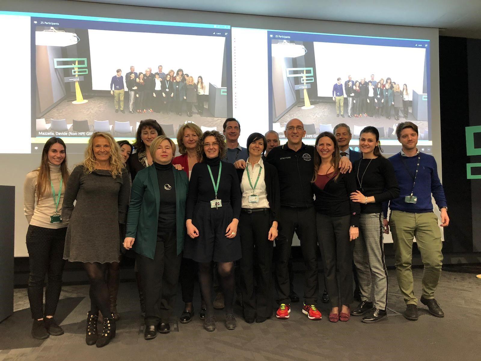 HPE Italia - group photo