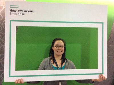 Angela Wu, HPE Information Developer on the Knowledge Management team.