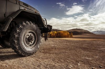 Just as all-terrain vehicles distribute torque to all four wheels simultaneously, easing the load borne by each wheel, striping distributes data across two or more disks.
