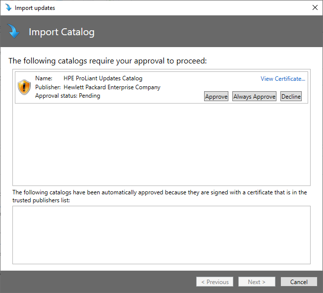 SCUP-HPE-Importing Catalogue 2.PNG