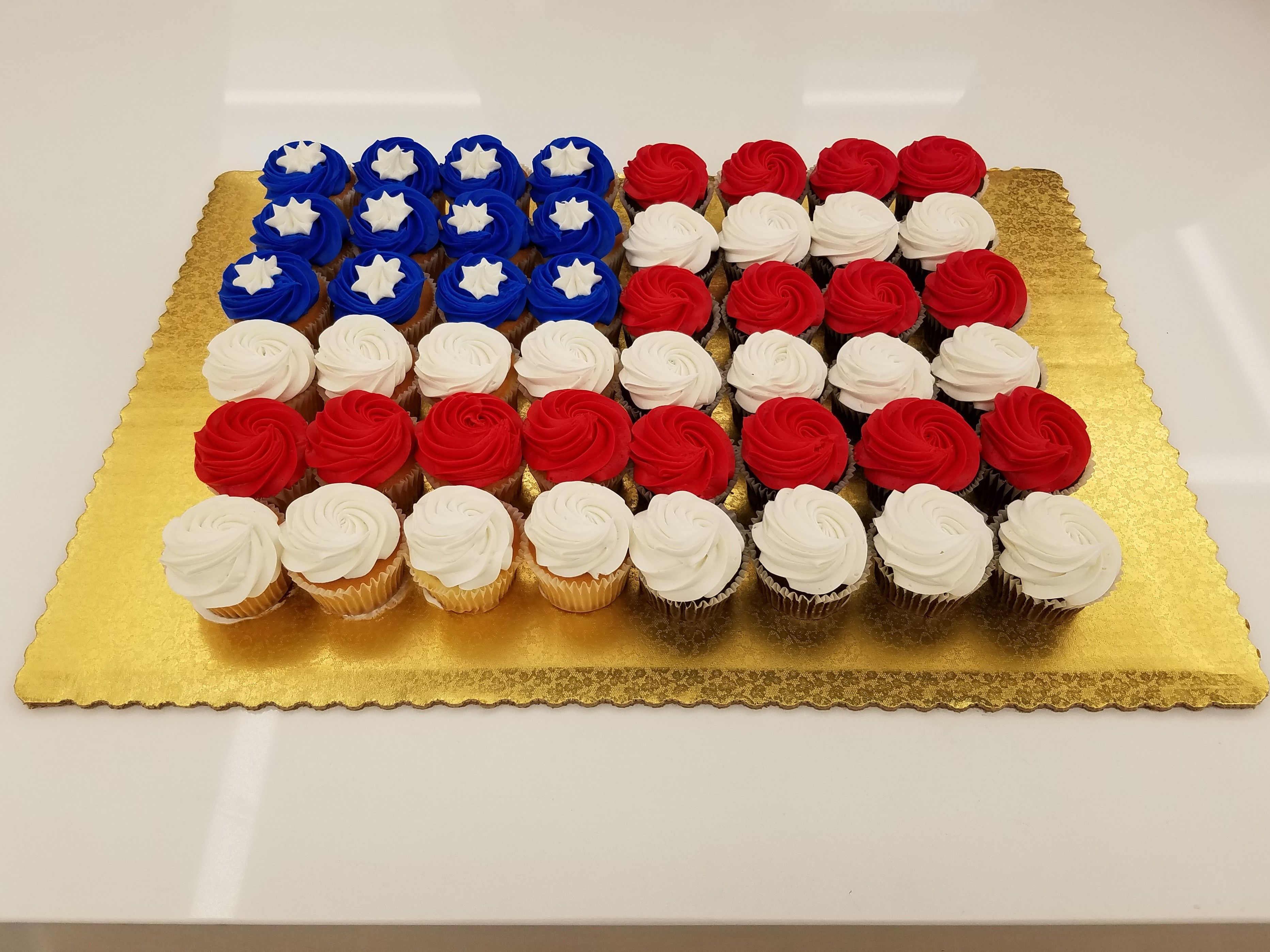 The Houston VERN team shared awareness of US Flag Day by providing fellow employees cupcakes and info about the significance of the holiday