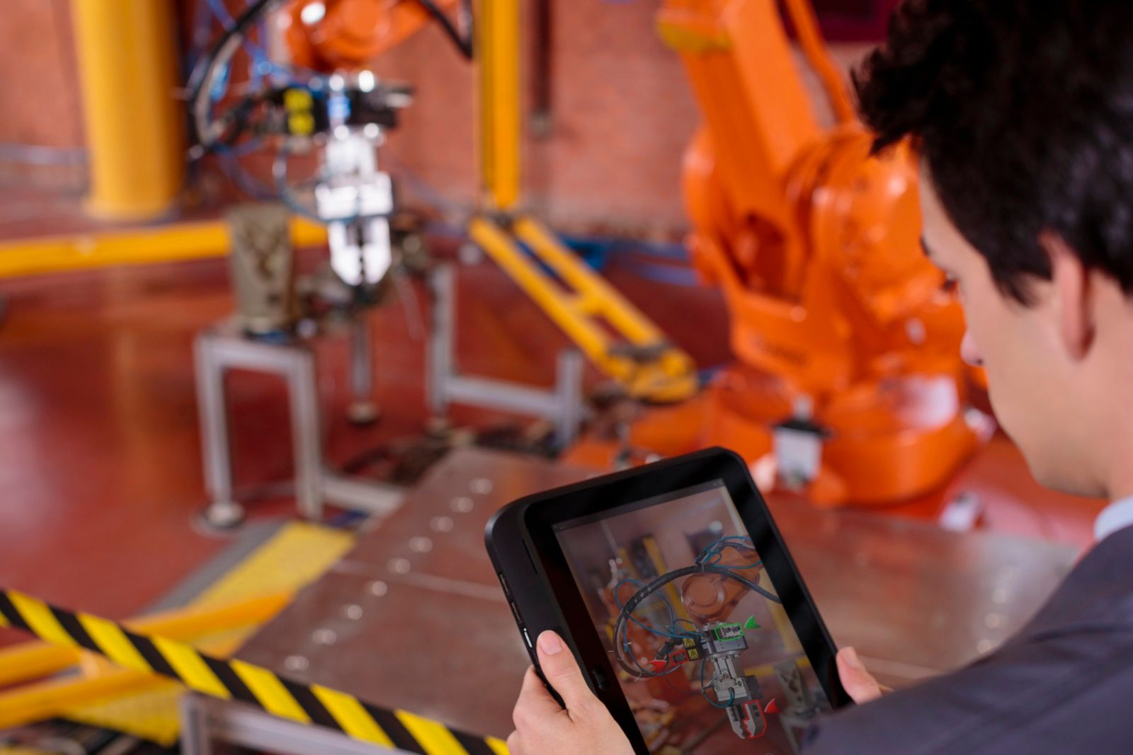Augmented Reality in a manufacturing scenario