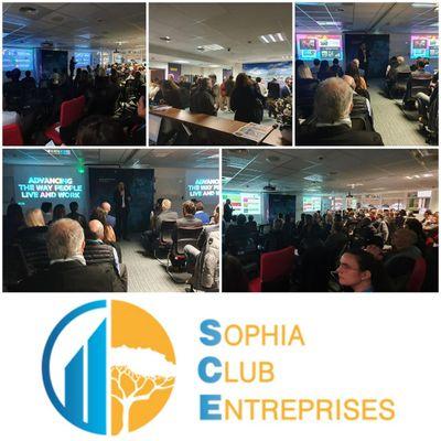 HPE accueille les membres dirigeants du Sophia Club Entreprises le 10 janvier 2020