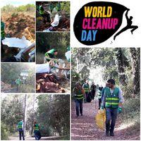 Les employés d'HPE Sophia Antipolis se mobilise pour le world cleanup day