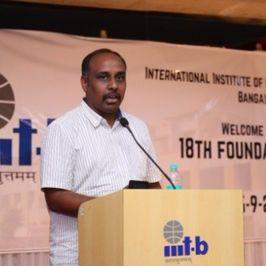 Hemachandra Rao Vatturi, Solutions Architect at HPE Bengaluru, India