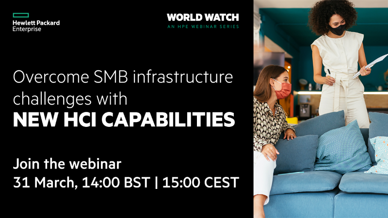 HPE World Webinar Series