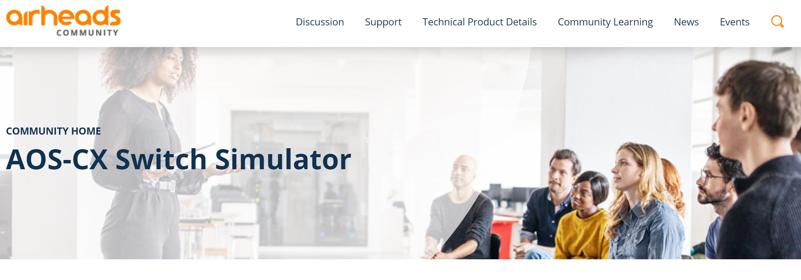 AOS-CX Simulator Community.PNG