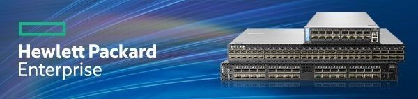 Figure 3: HPE M-series Ethernet switch family offers ideal form-factor and performance for high-performance NVMe storage